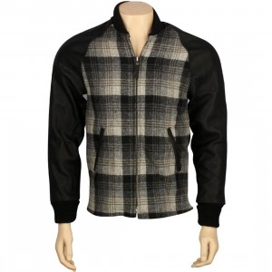 Huf Shadow Plaid Surcoat (black)