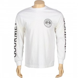 Gourmet Team Long Sleeve Tee (white)