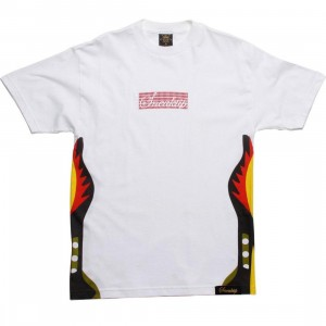 Sneaktip 5 Fire Tee (white / red)