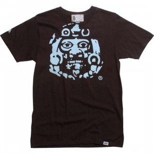 Raza Mask Tee (chocolate brown)