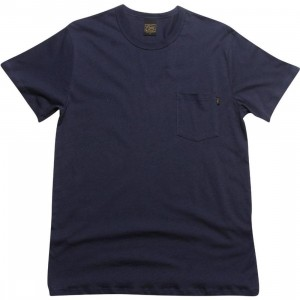 Obey Lightweight Pocket Tee (mood indigo)