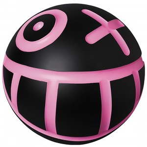 PREORDER - Medicom VCD Andre Saraiva Mr. A Ball Black W Size Figure (black / pink)