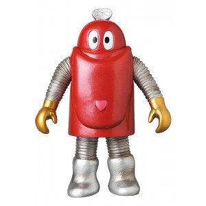 PREORDER - Medicom Robocon Metalic Color Middle Size Sofubi Figure (red)