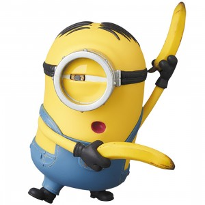 PREORDER - Medicom UDF Despicable ME Minions Stuart Ultra Detail Figure (yellow)