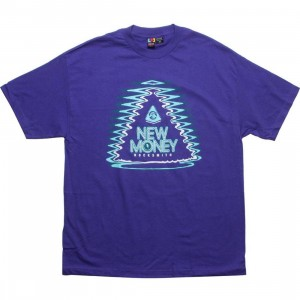 Rock Smith Money Pyramid Tee (purple)