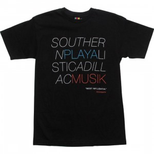 Rock Smith Playa Muzik Tee (black)