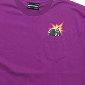 The Hundreds Peek A Boo Tee (purple)