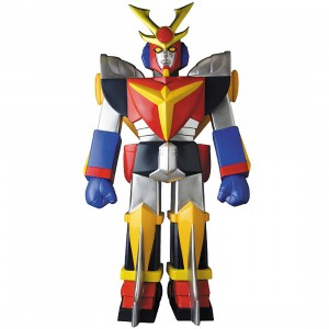PREORDER - Medicom Giant Daitarn 3 - Retro Toy Color Ver Sofubi Figure (yellow / red)