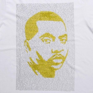 Staple Men Highlighter Nasir Tee (white)