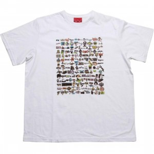 Staple Men Billy Joel Tee (white)