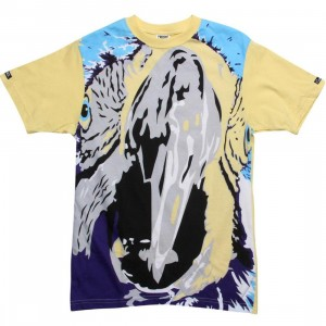 Crooks and Castles Murdoch Tee (canary)