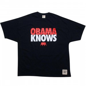 Under Crown Obama Knows Tee (navy / burgandy / white)