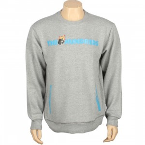 The Hundreds Roo Crewneck (heather grey)