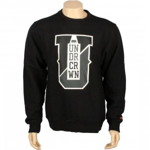 Under Crown Varsity Crewneck Sweatshirt (black)