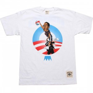 Under Crown Obama O-Face Tee (white)