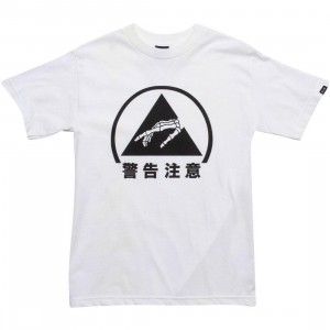 Triumvir Caution Tee (white)