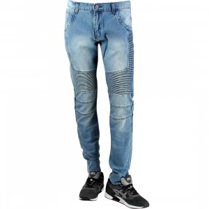 Embellish NYC Veneno Biker II Denim Jeans (blue)