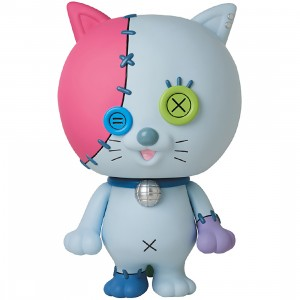 PREORDER - Medicom JAM Jumbo Artist Monsters Odorineko Button Sofubi Figure (blue)
