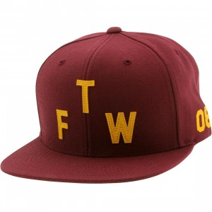 Primitive Winner Snapback Cap (burgundy)