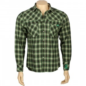 The Hundreds Sound Long Sleeve Top (green)