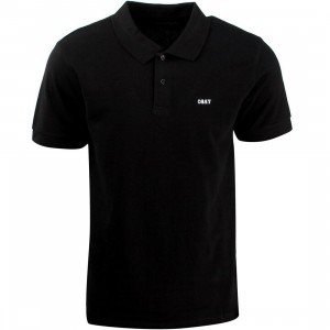 Obey Alley Polo Shirt (black)