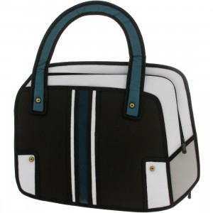 Jump From Paper - Time Machine Disguise Handbag (black)