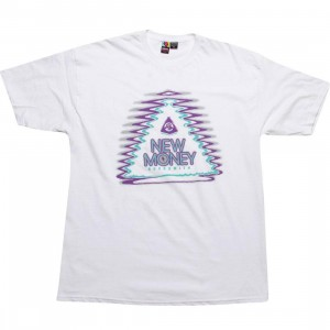 Rock Smith Money Pyramid Tee (white)