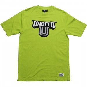 Undefeated Felt Logo Tee (green)