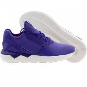 Adidas Big Kids Tubular Runner (purple / ngtfla / red)