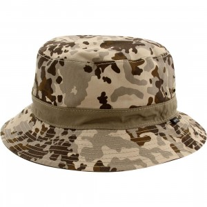 WeSC Flecktarn Bucket Hat (camo / aloe)