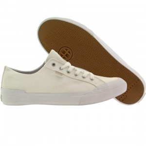 HUF Men Classic Lo Canvas (white / natural)