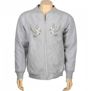 Huf Dirtbag Zip Crew (grey)