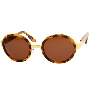 Super Sunglasses Santa - Spotted (brown)