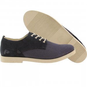 Pointer Men Surfer Rosa Suede (navy / ivory)