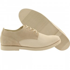 Pointer Men Surfer Rosa Suede (white / ivory)