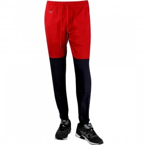 Publish Two-Tone Jogger Pant (red / navy)
