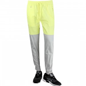 Publish Two-Tone Jogger Pant (gray / neon)