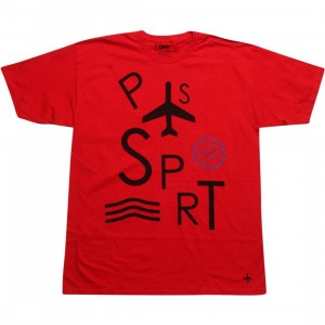 Passport United Colors Tee (red)