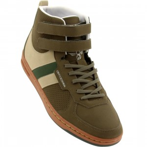 Creative Recreation Womens Dicoco (military green / garden / rust)