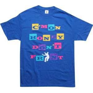 Union Cmon Honey Dont Front Tee (blue)