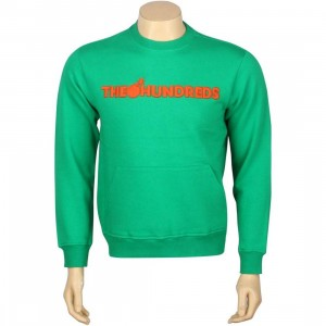 The Hundreds Kanga Crewneck (green)
