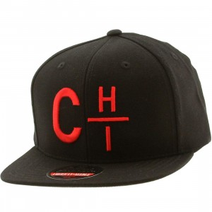 American Needle Chicago Divided Snapback Cap (black / red)