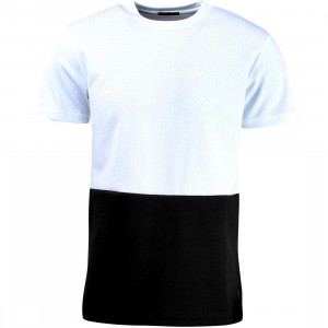 Unyforme Men Ferris Knit Tee (white / black)