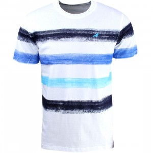 Staple Men Paint Stripe Tee (navy)
