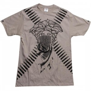 Crooks and Castles Revolt Bandito Tee (sand)