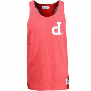 Diamond Supply Co Men UN Tank Top (red)