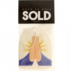 SOLD intl Pray Hands Emoji Air Freshener (beige / blue)