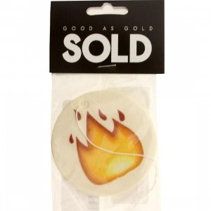 SOLD intl Fire Emoji Air Freshener (red)