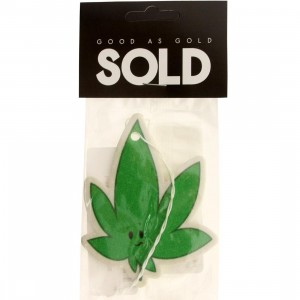 SOLD intl Leafy Air Freshener (green)