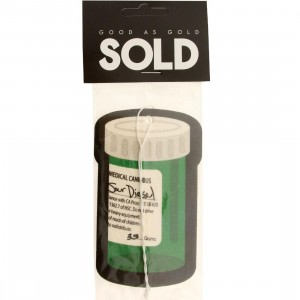 SOLD intl Sour Can Air Freshener (green)